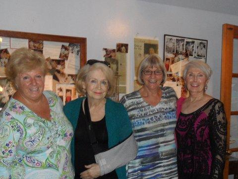 Cape Cod Summer, August 2016, Annual Reunion Jackie Sahagian, Ann Connell (wounded), Elaine Westerlund, Elaine Stopyra